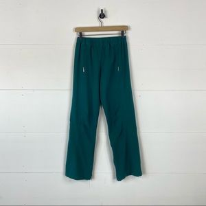 Lucy Athletic Emerald Green Track Pants Size XS